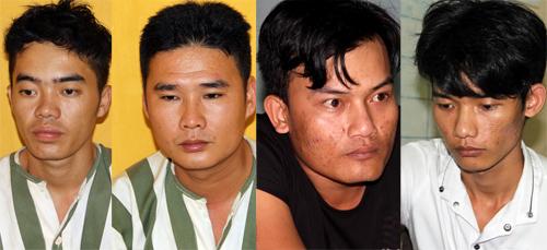 4 tên dùng súng cướp tiệm vàng ở Tây Ninh nhanh chóng sa lưới. Ảnh: