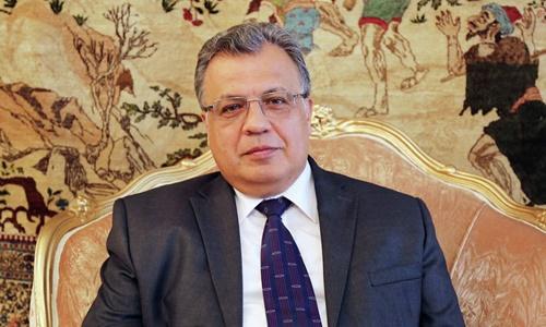 Đại sứ Nga tại Thổ Nhĩ Kỳ Andrey Karlov . Ảnh: Sputnik.