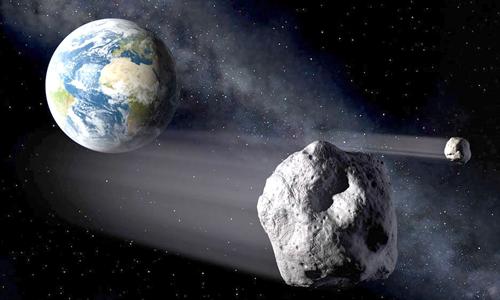 Bốn thiên thể sẽ đi qua Trái Đất hôm 21/12. Ảnh minh họa: Alamy.