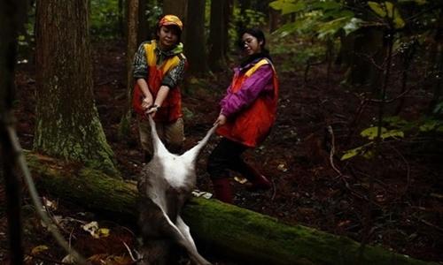 Phụ nữ Nhật Bản tiến vào thế giới săn bắn của đàn ông