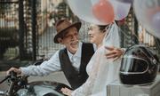 Ảnh cưới mối tình 50 năm gây sốt cộng đồng