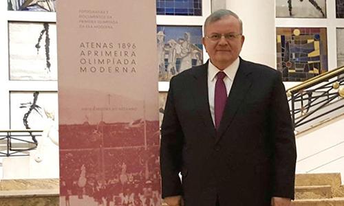 Đại sứ Hy Lạp tại Brazil Kyriakos Amiridis. Ảnh: Sputnik.