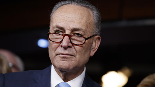 Ông Schumer, lãnh đạo phe thiểu số ở Thượng viện Mỹ