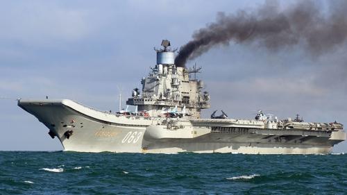 Đô đốc Kuznetsov, tàu sân bay duy nhất của Nga. Ảnh: