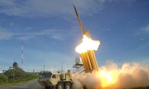 Hệ thống phòng thủ tên lửa THAAD của Mỹ. Ảnh: Reuters