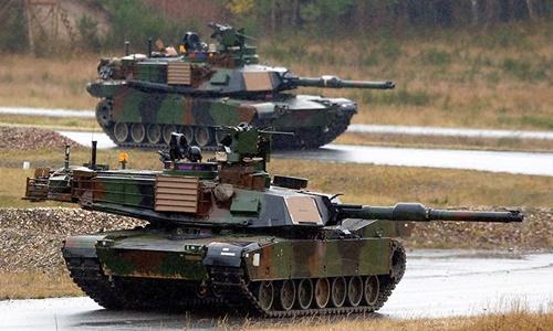 Châu Âu nhận hàng trăm xe tăng