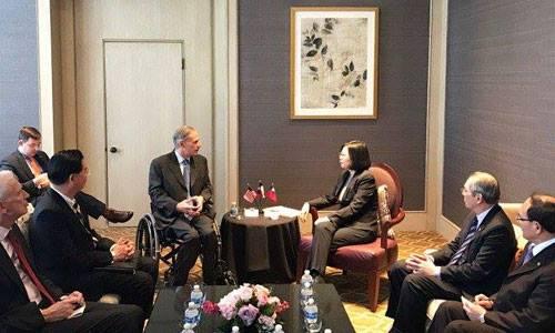 Trung Quốc cảnh báo Mỹ về chuyến thăm của lãnh đạo Đài Loan - ảnh 1