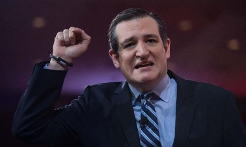 Thượng nghị sĩ bang Texas Ted Cruz. Ảnh: AFP