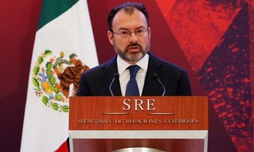 Ngoại trưởng Mexico Luis Videgaray. Ảnh: Reuters.