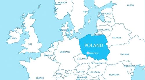 Vị trí thành phố Wroclaw, Ba Lan. Đồ họa: Admission.