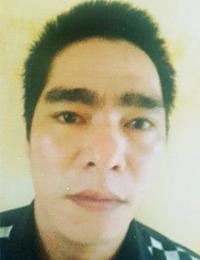 Táng bị cảnh sát bắt giữ sau gần chục ngày bỏ trốn tại tỉnh Lâm Đồng. Ảnh: C.A