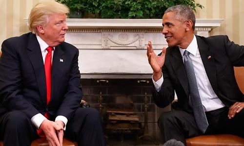 Tổng thống Obama sẽ đi cùng Trump đến lễ nhậm chức - ảnh 1