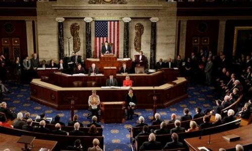 Hạ viện Mỹ. Ảnh: Reuters.