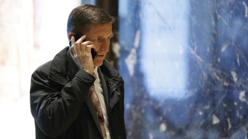 Michael Flynn, người được ông Trump chỉ định giữ vị trí cố vấn an ninh quốc gia. Ảnh: AP