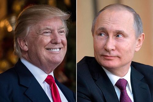 Tổng thống Mỹ đắc cử Donald Trump và Tổng thống Nga Vladimir Putin. Ảnh: WashingtonPost, AP