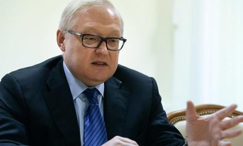 Thứ trưởng Ngoại giao Nga Sergei Ryabkov. Ảnh: RT.