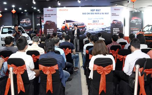 Isuzu đã công bố hàng loạt kế hoạch mới tại Việt Nam trong năm 2017