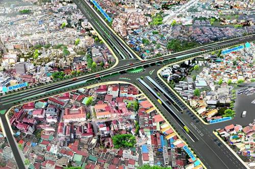 Thông xe cầu vượt ở 'điểm đen' ùn tắc của Sài Gòn