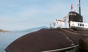 'Hố đen đại dương' - tàu ngầm Kilo 187 cập vịnh Cam Ranh