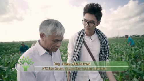 Nông dân xã Liên Bảo và Ý Yên (Nam Định)tận dụng phân bón hữu cơ cung cấp dinh dưỡng cho cây thay vì phân bón hóa học.