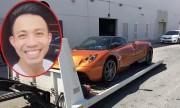 Đại gia Minh Nhựa dẫn vợ đi đón siêu xe Pagani Huayra 78 tỷ về Việt Nam