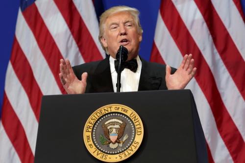Tổng thống mới nhậm chức Donald Trump. Ảnh: Reuters