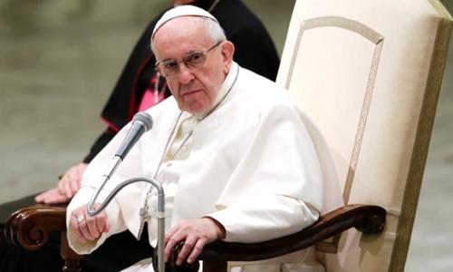 Giáo hoàng Francis. Ảnh: Reuters.