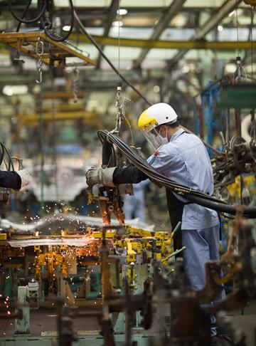 TMV đưa nhà máy tại Vĩnh Phúc vào hoạt động từ 1995.