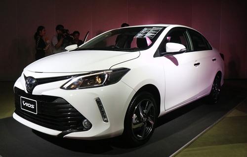 Toyota Vios 2017 có giá từ hơn 17.000 USD
