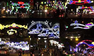 Ý nghĩa những con đường trang trí ánh sáng ở Sài Gòn