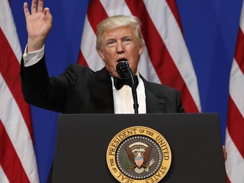 Tổng thống Mỹ Donald Trump. Ảnh: AP