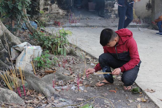 Lễ cúng thổ công của người Nùng tại Lạng Sơn