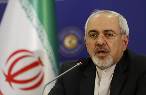 Ngoại trưởng Iran Mohammad Javad Zarif. Ảnh: Reuters,