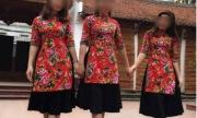 Áo dài cách tân Tết mặc với váy đụp gây tranh cãi gay gắt