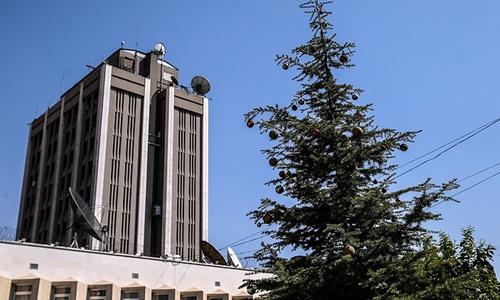 Đại sứ quán Nga tại Damascus, Syria. Ảnh: Tass.