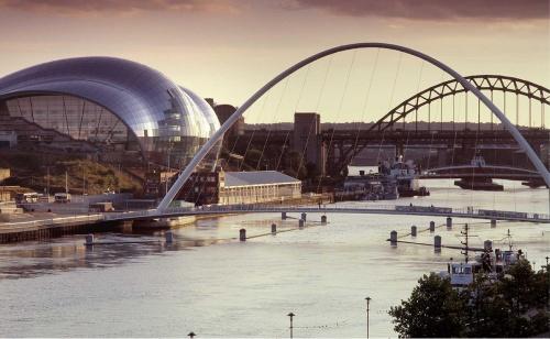 Thị trấn Gateshead, đông bắc Anh. Ảnh: Gateshead