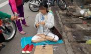 Thiếu nữ ăn diện ngồi xin tiền ở Đồng Nai để về Hà Nội