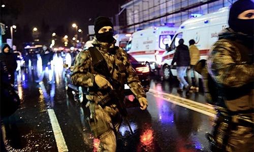 Cảnh sát đặc nhiệm Thổ Nhĩ Kỳ. Ảnh: Reuters