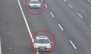 Hai ôtô đi lùi trên cao tốc Hà Nội - Hải Phòng
