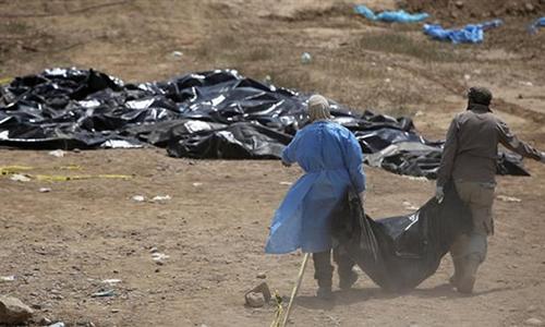 Iraq phát hiện mộ tập thể ở thành trì IS