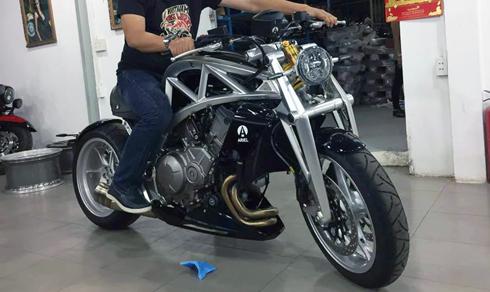 Ariel ACE - siêu môtô mới đặt chân đến Việt Nam