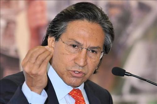 Cựu tổng thống Peru Alejandro Toledo. Ảnh: