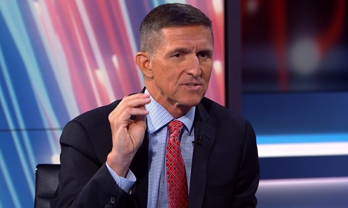 Cố vấn an ninh Mỹ Michael T. Flynn . Ảnh: Aljazeera