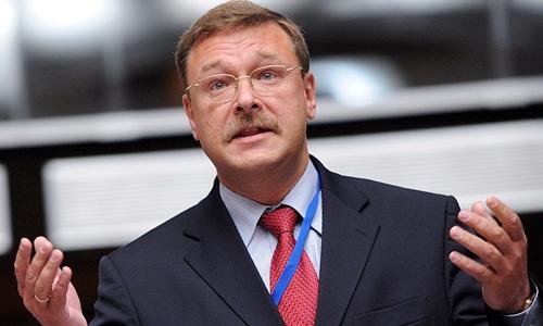 Konstantin Kosachev, nghị sĩ Nga. Ảnh: TASS