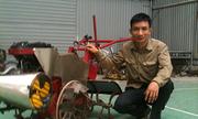 Nông dân 8x chế tạo máy nông nghiệp 15 chức năng