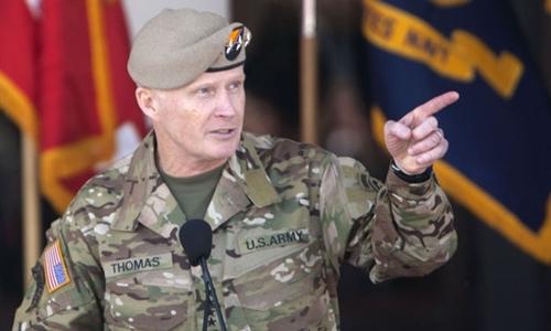 Tướng Raymond Tony Thomas, chỉ huy Bộ Tư lệnh Tác chiến Đặc biệt Mỹ. Ảnh: Defense.gov