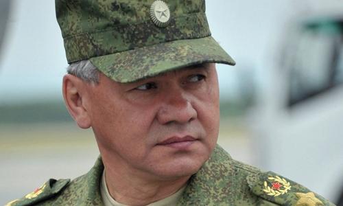 Bộ trưởng Quốc phòng Nga Sergei Shoigu. Ảnh: Sputnik.