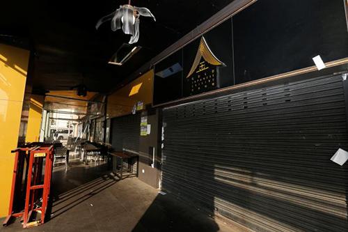 [nhà hàng Nhật mang tênGold Japanese Cuisine đã đóng cửa vào năm ngoái.