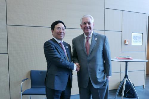 Bộ trưởng Ngoại giao Việt – Mỹ gặp nhau tại Đức