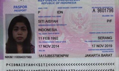 Nữ nghi phạm sát hại Kim Jong-nam có hai chứng minh thư ở Indonesia - ảnh 1
